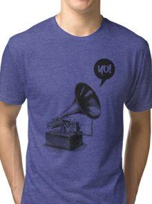 Hip-Hop Gramophone Tri-blend T-Shirt
