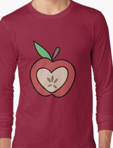 Heart Apple Long Sleeve T-Shirt