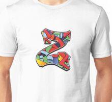 Letter Z Color Unisex T-Shirt