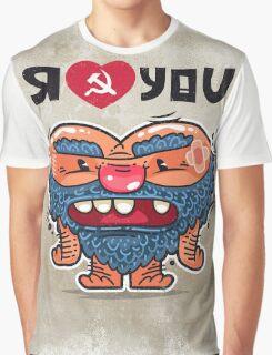 Russian Love Graphic T-Shirt