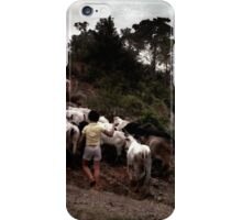 Bringing Home the Cattle, Mexico iPhone Case/Skin