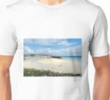 The Harbour at Low Tide, St Ives, Cornwall Unisex T-Shirt