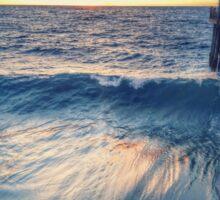 Waves - Redondo Beach Pier  Sticker