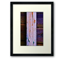 Old Wood Texture 04 Framed Print