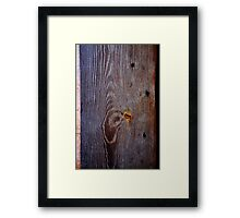 Old Wood Texture 02 Framed Print