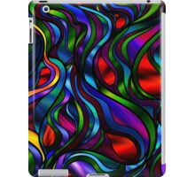 Psychedelic Stained-Glass Abstract iPad Case/Skin