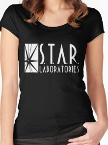 Star Labs - Earth Two Women's Fitted Scoop T-Shirt