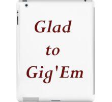 Gig em iPad Case/Skin