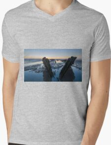 Shipwreck Mens V-Neck T-Shirt