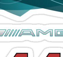 Silver Arrows 44 Sticker