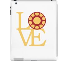 LOVE - Iron iPad Case/Skin