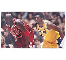 Kobe Bryant X Michael Jordan Poster