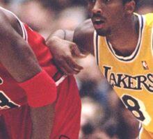 Kobe Bryant X Michael Jordan Sticker