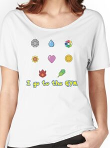 I go to the Gym Women's Relaxed Fit T-Shirt