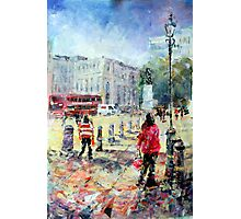 London Art Sunny Afternoon In The City Photographic Print