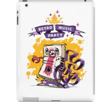 Retro Music Party Poster iPad Case/Skin