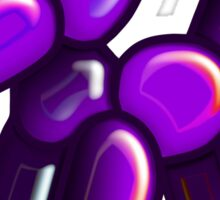 Balloon Dog - Purple Sticker