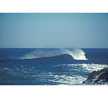 wave action Photographic Print