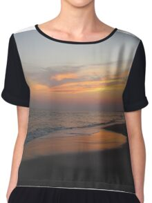 Beautiful Sky On The Beach Chiffon Top