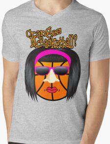 Cranges McBasketball Mens V-Neck T-Shirt