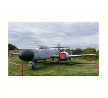 Gloster Meteor NF14 Art Print