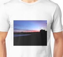 stunning sunset over Seaton Unisex T-Shirt