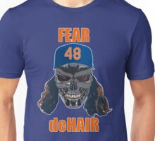 Fear deHair (w/ Orange Lettering) Unisex T-Shirt
