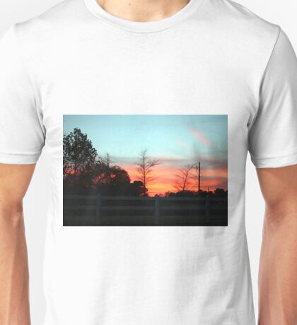 Colorful Sky Unisex T-Shirt