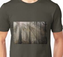 Foggy Morning in Leigh Woods Unisex T-Shirt