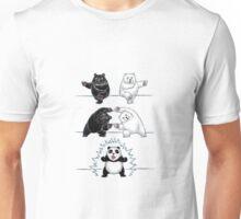 Panda Fusion Unisex T-Shirt
