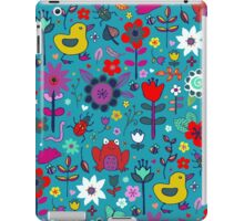 Ducks and Frogs in the Garden iPad Case/Skin
