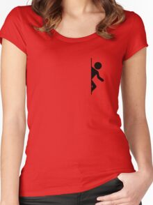 Portal Exit Women's Fitted Scoop T-Shirt