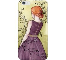 Spring - Watercolor painting iPhone Case/Skin