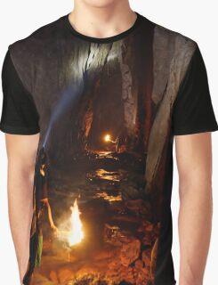 Trekking through a Thai Cave Graphic T-Shirt