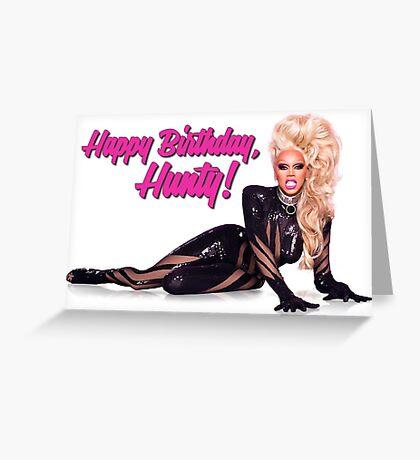 RuPaul - Happy Birthday Greeting Card