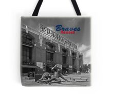 Braves Baseball Tote Bag
