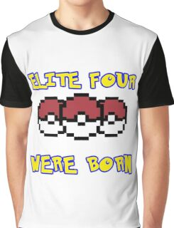 I beat the Elite Four Graphic T-Shirt