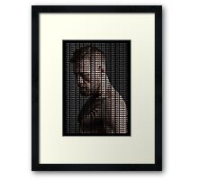 Conor Mcgregor, Go To War Quote (Superimposed) Framed Print