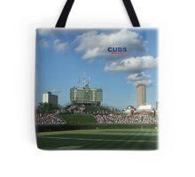 Cubs Baseball Tote Bag