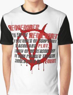 v for vendetta quote  Graphic T-Shirt