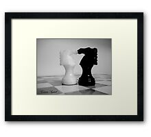 Love & Games Framed Print