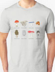 Mushroom Mania Unisex T-Shirt