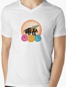 Protect the Bees Mens V-Neck T-Shirt
