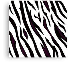 Safari zebra pattern or texture Canvas Print