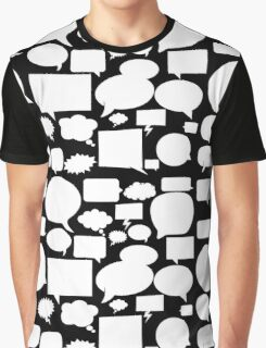 Speech balloons Graphic T-Shirt
