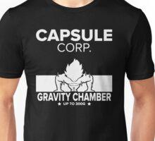 Capsule Corp. Gravity Chamber Goku Unisex T-Shirt