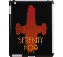 Serenity Now Firefly Silhouette  iPad Case/Skin