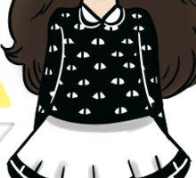 cutie chibi Sticker