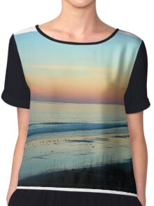 The Day Ends Chiffon Top