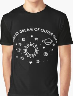 used to dream of outer space Graphic T-Shirt